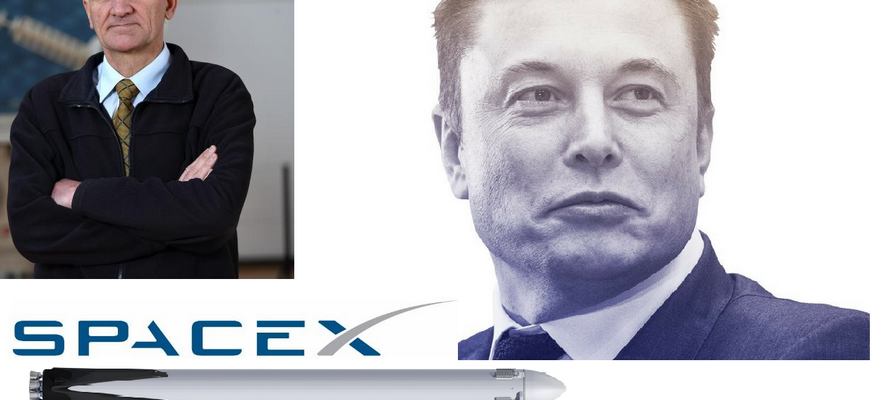 Elon Musk, SpaceX i letovi u svemir