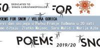 Čitanje poezije na prvi dan snijega u Velikoj Gorici – pjesnički festival 50 poems for snow