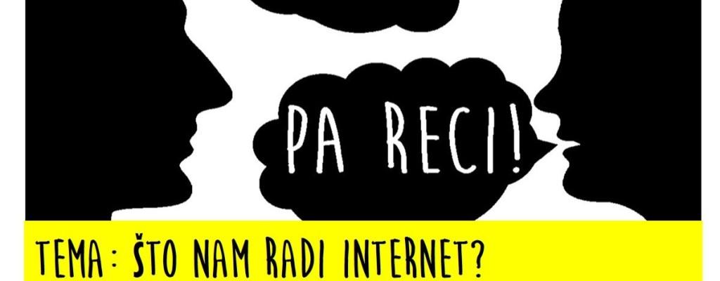 """Što nam radi internet? – internet u našoj svakodnevici tema je razgovaraonice """"Ispeci pa reci!"""""""
