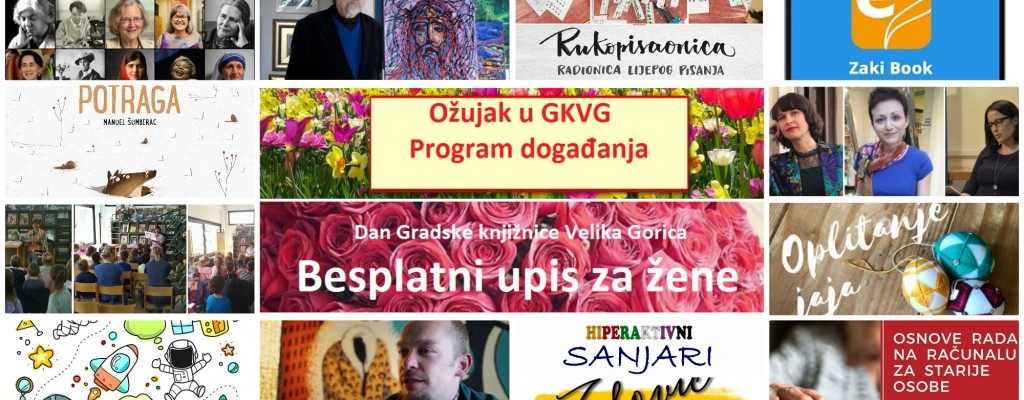 Program događanja u ožujku 2020.