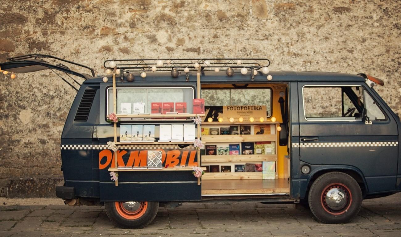Bookmobile Maje Klarić u Velikoj Gorici