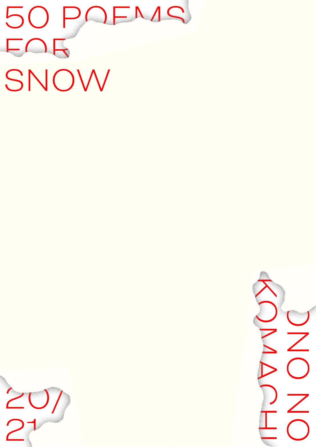 50 poems for snow – čitanje poezije na prvi dan snijega u našem gradu