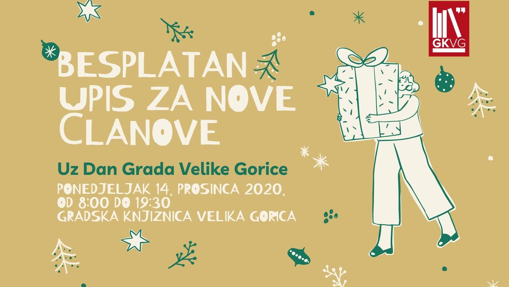 Poklon uz Dan Grada Velike Gorice – besplatan upis za nove članove