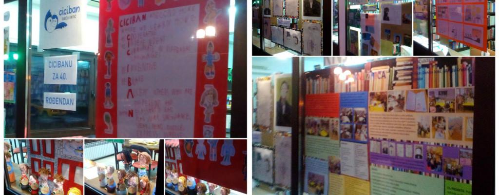 Cicibanu za rođendan i Dječja knjižnica – izložbe