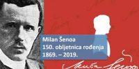 Milan Šenoa – predavanje uz 150. obljetnicu rođenja