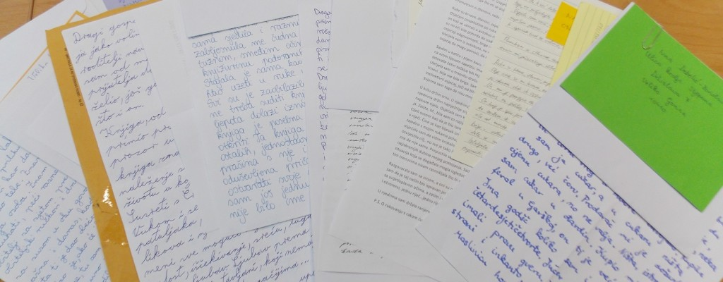 """Što piše u naj pismima? – završnica natječaja """"Pišem ti pismo"""""""