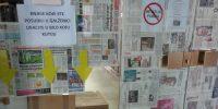 Revizija fonda u Područnoj knjižnici Galženica