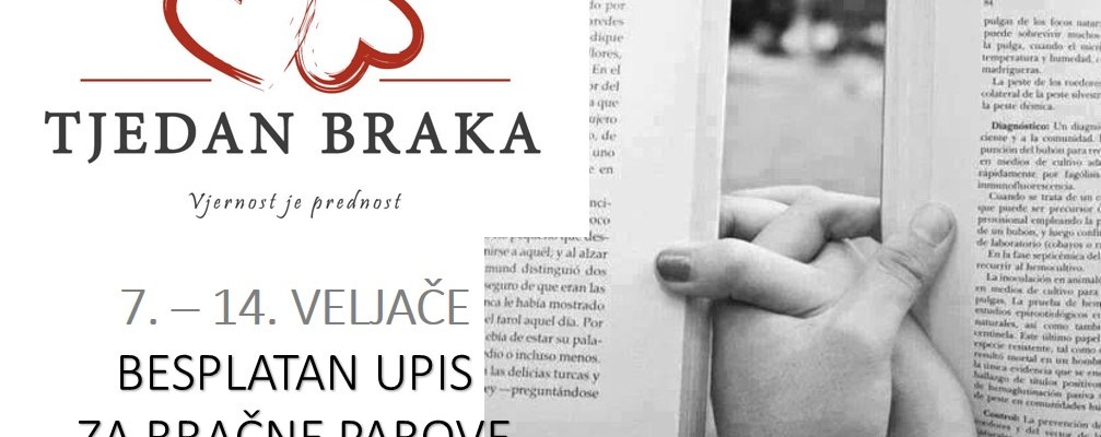 Besplatno članstvo u knjižnici za bračne parove uz Međunarodni tjedan braka u Hrvatskoj