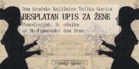 Besplatan upis za žene uz Dan Gradske knjižnice Velika Gorica