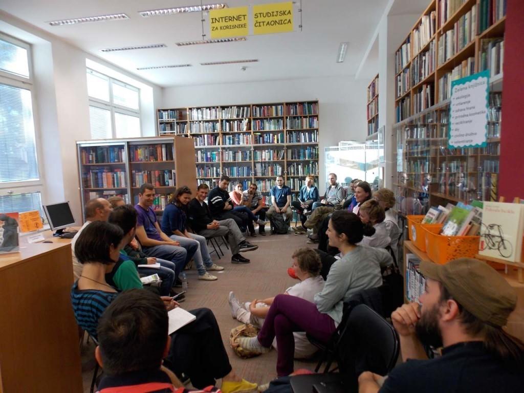 Predavanja i susreti u knjižnici