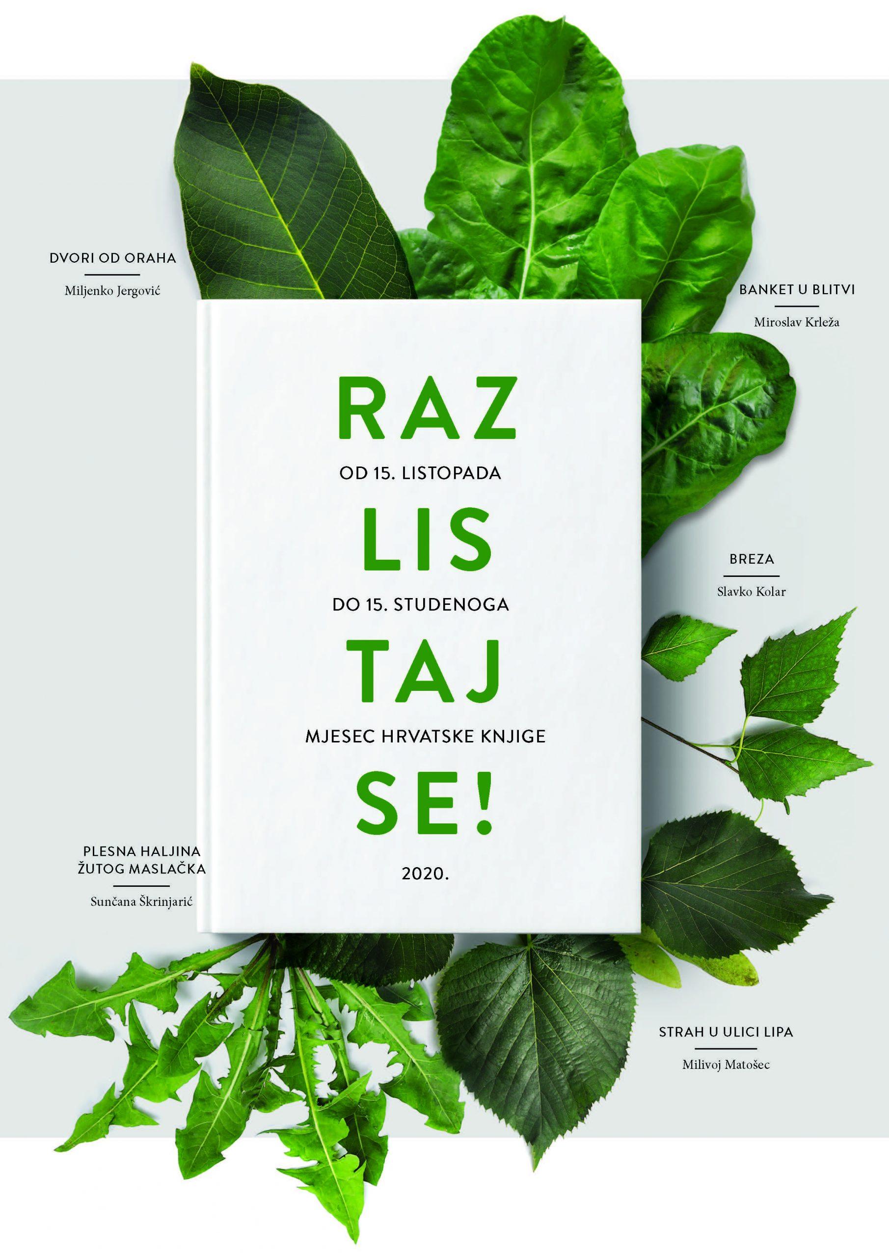 Počinje Mjesec hrvatske knjige