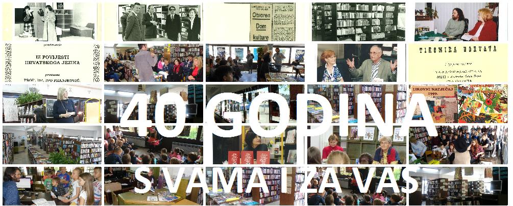 40 godina Knjižnice Galženice – studeni 2020.