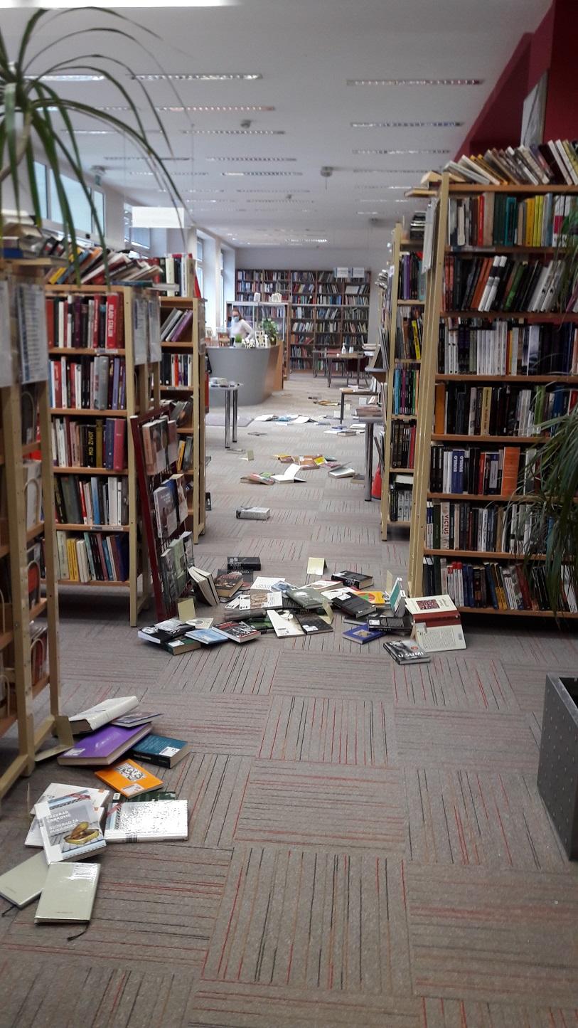 Knjižnica se otvara za korisnike u ponedjeljak 4. siječnja 2021., Dječji odjel za sada još uvijek zatvoren