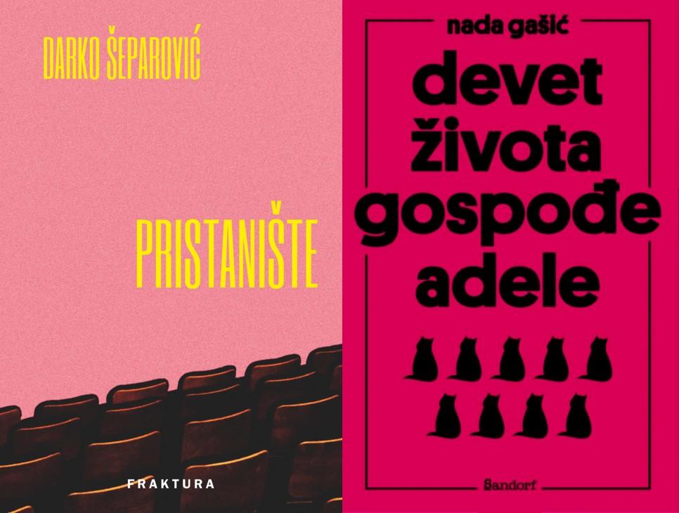 """(Čak dvije!) Knjige tjedna – """"Devet života gospođe Adele"""" Nade Gašić i """"Pristanište"""" Darka Šeparovića"""