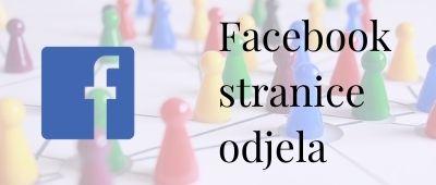 Facebook-stranice-odjela