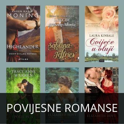 POVIJESNE ROMANSE - KATALOG