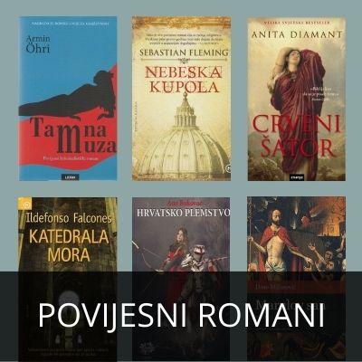 POVIJESNI ROMANI - KATALOG