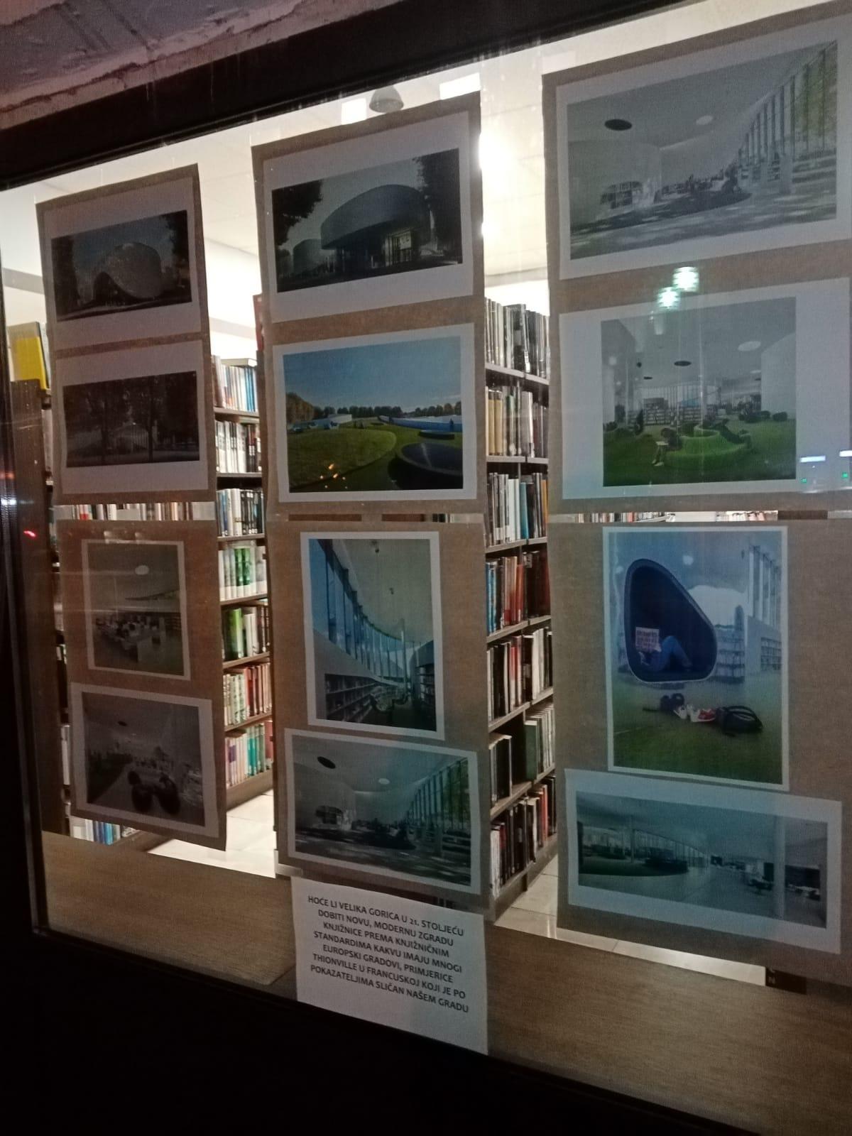 135 godina čitanja – 135 razloga za novu zgradu knjižnice – izložba
