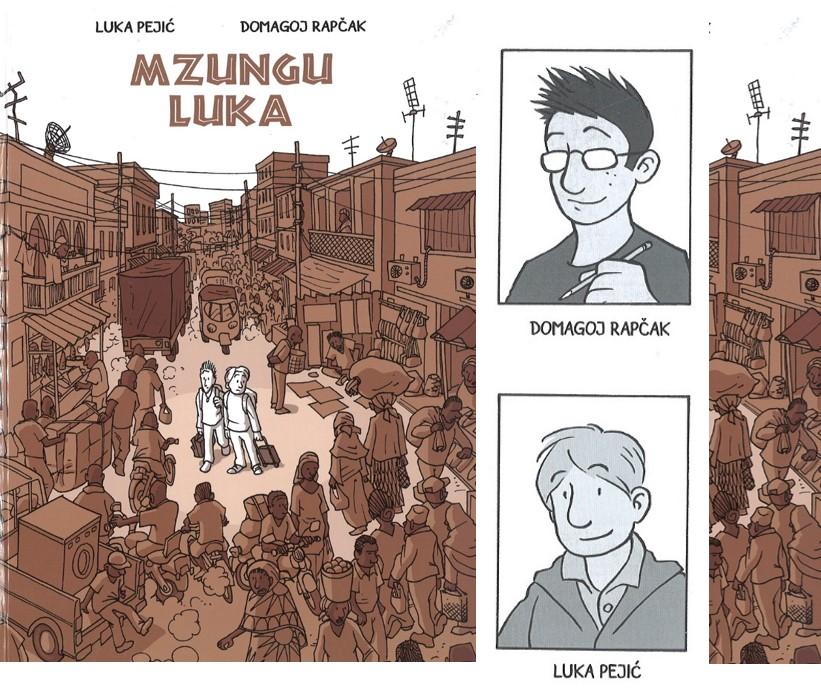 KNJIGA TJEDNA Luka Pejić i Domagoj Rapčak: Mzungu Luka