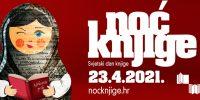 23. travnja provedite uz online programe Noći knjige