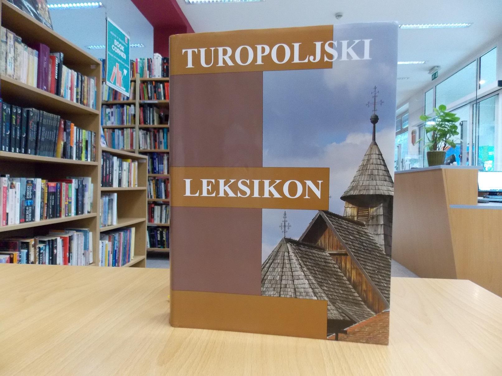 KNJIGA TJEDNA Turopoljski leksikon