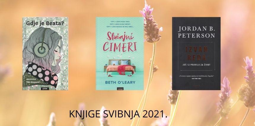 najčitanije knjige svibnja 2021