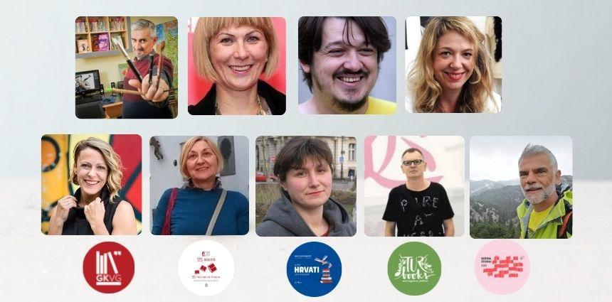 Hrvatske književne zvijezde, pisci i ilustratori tijekom  Mjeseca hrvatske knjige 2021.gostuju u Gradskoj knjižnici Velika Gorica