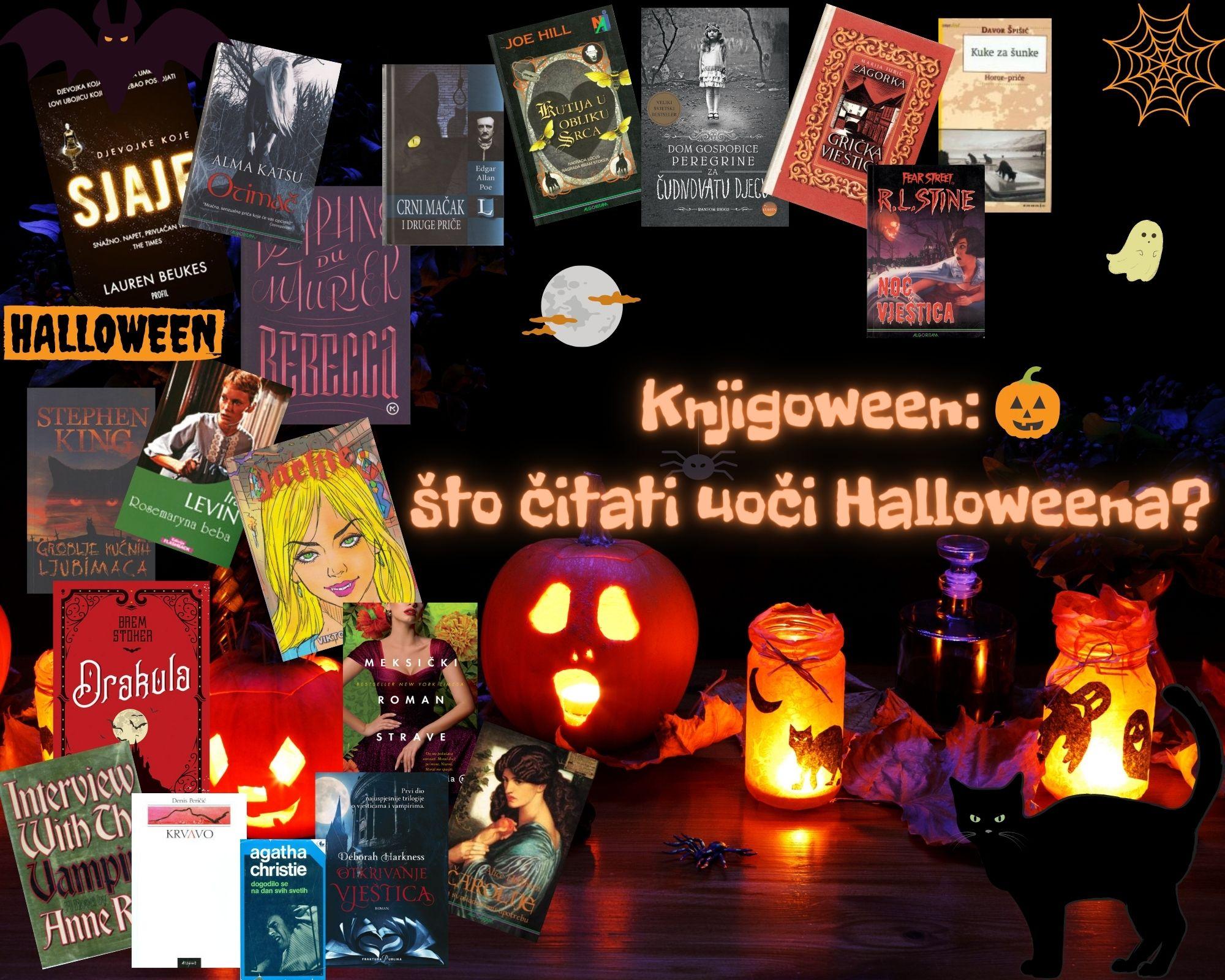 Knjigoween: što čitati uoči Halloweena?